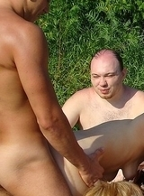 Nude Beach. Dirty perverts fucking on the beach