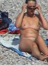 Kinky  couple got filmed while talking dirty at Nude Beach Dreams